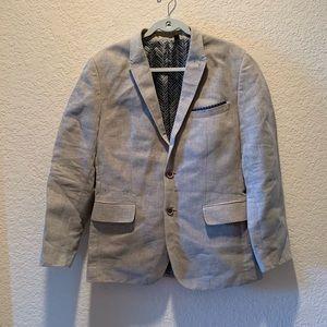 Ted Baker London tan linen blend sports coat, 4